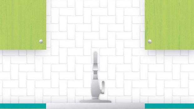 Subway Tile Pattern Guide Herringbone