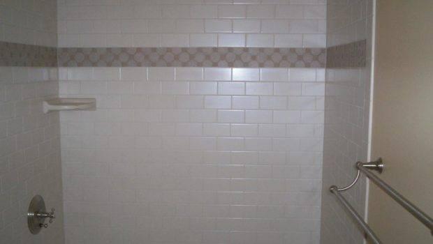 Subway Tiled Shower Jrs Quality Tile Hardwood Centre Hall