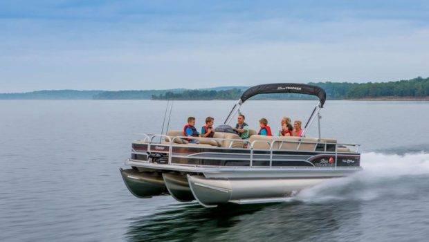 Sun Tracker Boats Fishing Pontoons Fishin Barge