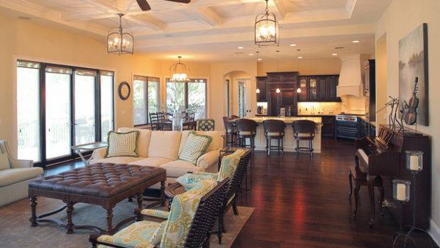 Superb Open Kitchen Floor Plans Contemporary Interior