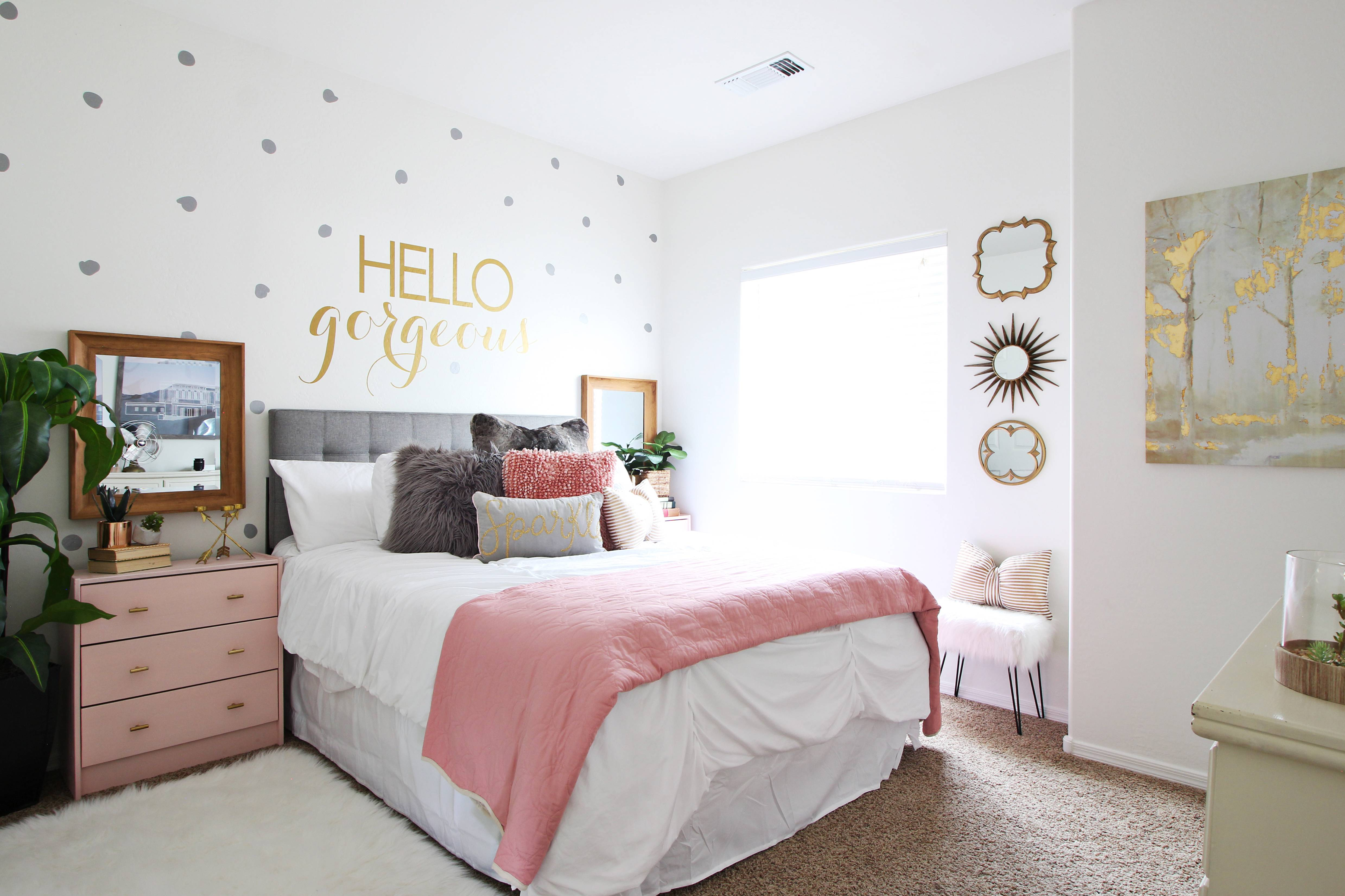 surprise tween teenage girl bedroom ideas makeover  cute
