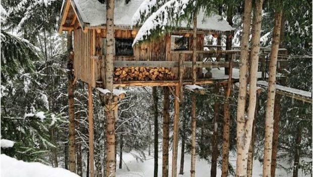 Sweet Tree House Cabin Got Grid Pinterest