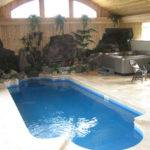 Swimming Pool Cost Modern Home Backyard Small Indoor