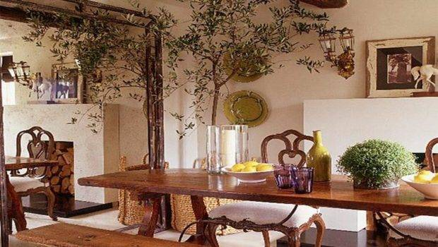 Table Mediterranean Decorating Styles