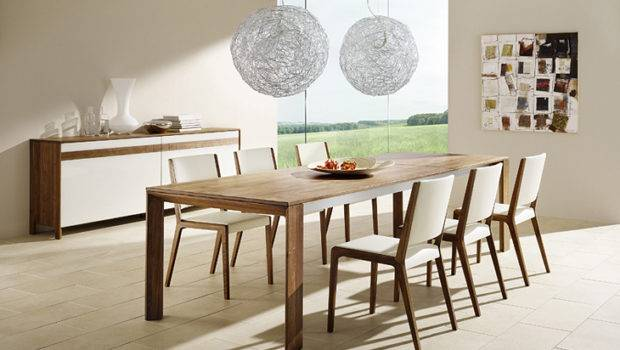 Team Modern Dining Set Round Chandeliers