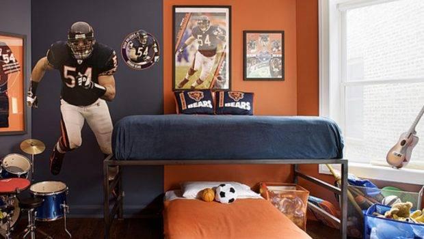 Teenage Boys Bedroom Home Decorating Ideas