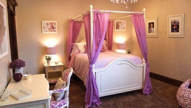 Teenage Girls Bedroom Ideas Canopy Bed Decorative