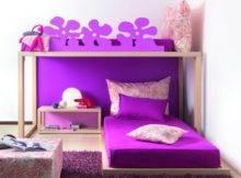 Teenage Girls Purple Bedroom Idp Interior Design Pic
