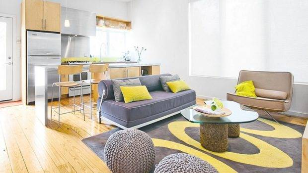 Themes Living Rooms Gray Yellow Brown Room
