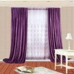 Thermal Velvet Simple Window Curtains Corresponding