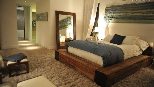 Three Master Bedroom Decoration Floor Futons
