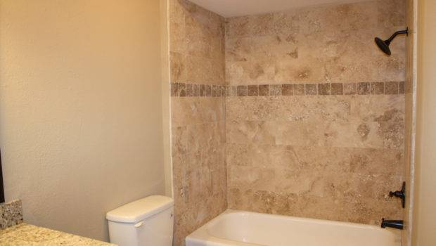 Tile Shower Wall Casual Cottage