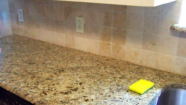 Tiled Backsplashes Before Our Second Fourth House