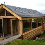 Timber Extensions Traditional Oak Larch Framing