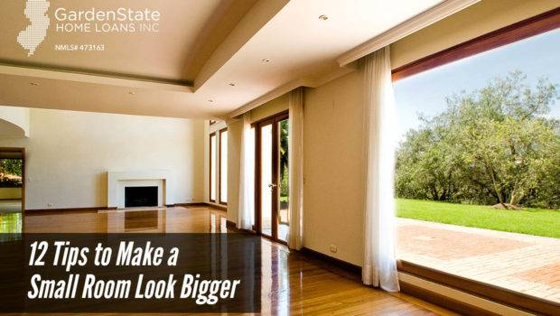 Tips Make Small Room Look Bigger Garden State