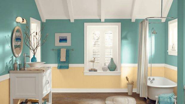 Top Bathroom Wall Colors Ideas Interior