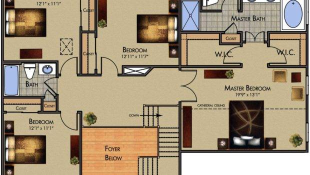 Top Modern Home Design Layout Awesome Four Bedroom