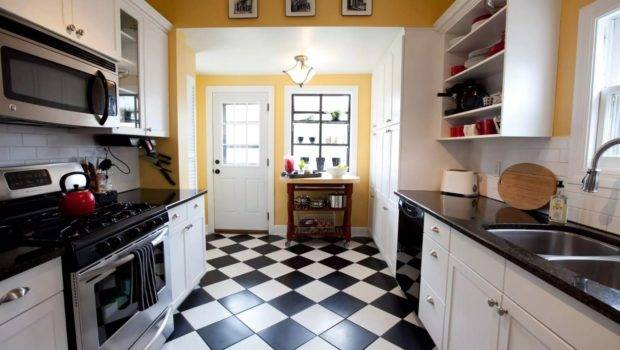 Top Modern Kitchen Flooring Materials Small Design Ideas