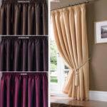 Top Modern Sliding Door Curtains Interior