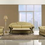 Traditional Cream Leather Sofa Set Cleopatra Ebay