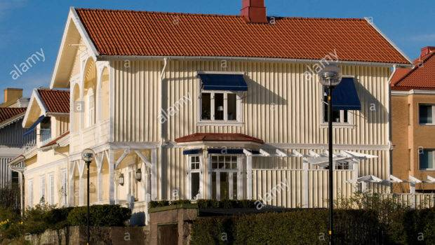 Traditional Swedish House Style Trollhattan Sweden