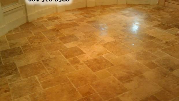 Travertine Bathroom Flooring Ideas Floor