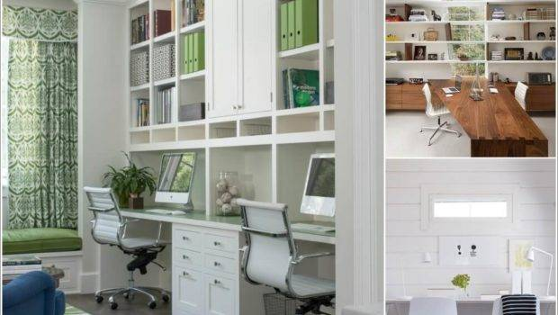 Trending Home Office Ideas Two People Design
