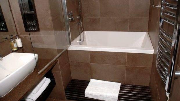Tub Shower Bath Pinterest Soaking Tubs Small