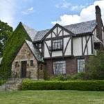 Tudor Revival Style House Located Adams Street Built