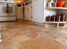 Tumble Marble Kitchen Floor Cabinet Kicks