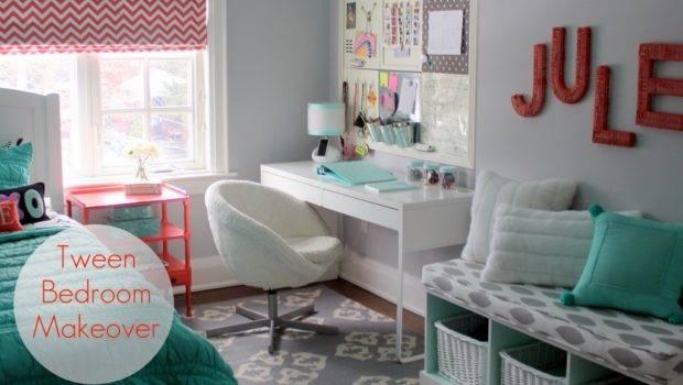 Tween Bedroom Makeover