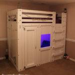 Twin Cabin Bed Plan Palmetto Bunk Beds