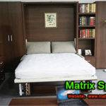 Twin Space Saving Transformable Wall Bed Bedroom Furniture Sofa