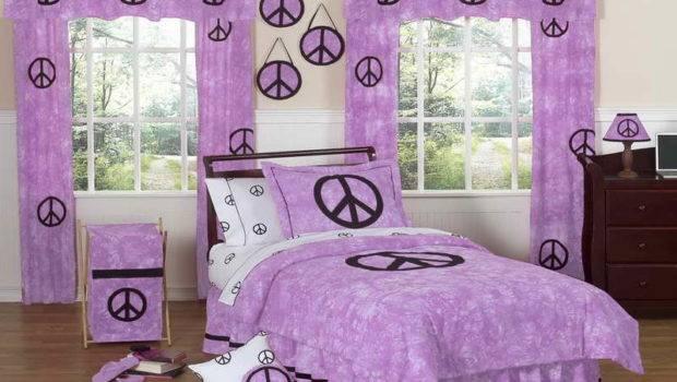 Twin Teenage Girl Bedding Design Ideas