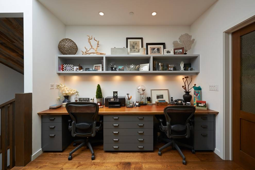 Two Person Desk Home Office Furniture - Cute Homes | #113652