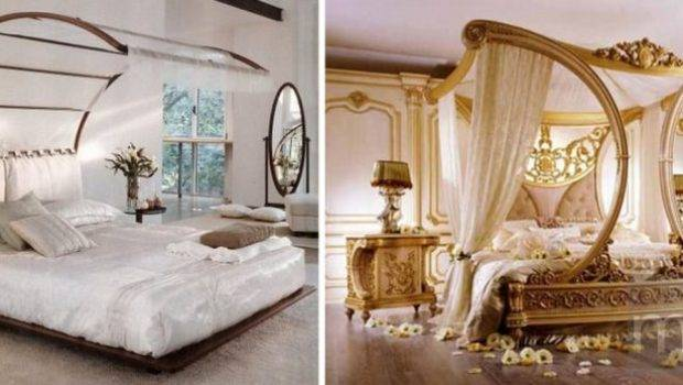 Two Unique Canopy Beds