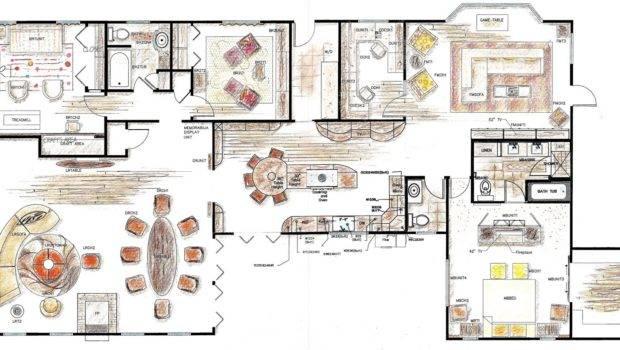 Types Furniture Floor Plan