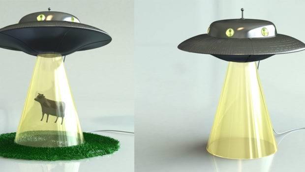 Ufo Alien Abduction Lamp Noveltystreet