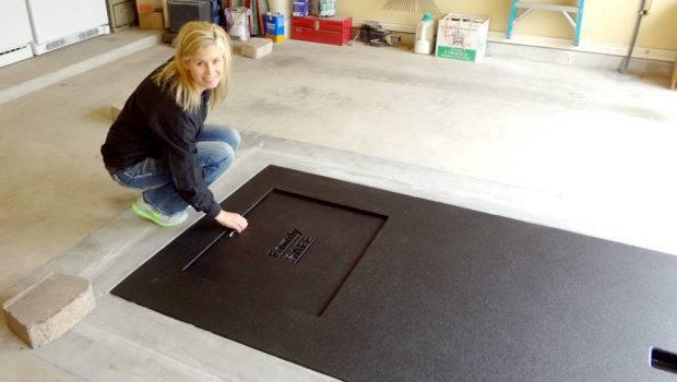 Under Garage Floor Familysafeshelters Shelter Ground