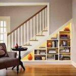 Under Stair Storage Solution Staircase Den Home Office