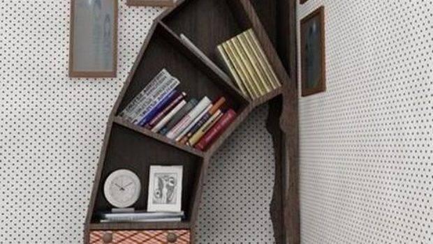 Unique Creative Bookshelves Funzug