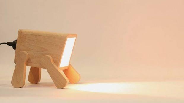 Unique Desk Lamp Playful Animal Figure Frank Home Building