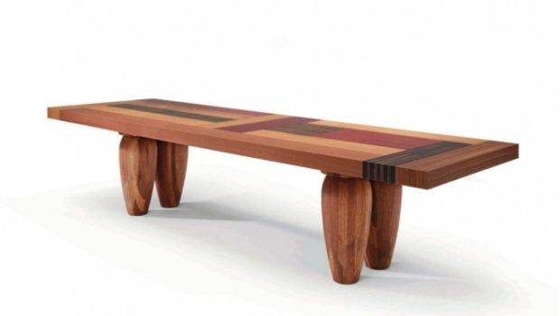 Unique Dining Table Made Wood Black Tables Bagutta