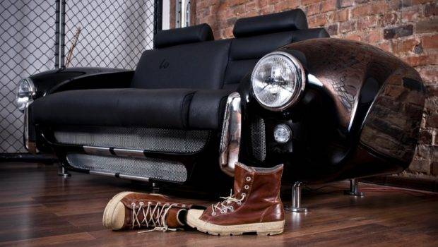 Unique Furniture Collection Made Real Car Parts Designed