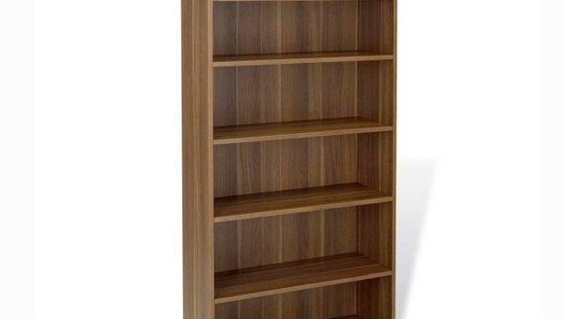 Unique Furniture Walnut Bookcase Bookcases