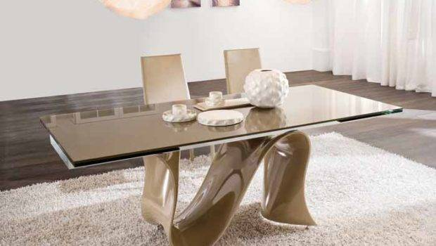 Unique Glass Dining Room Table Sets Tables Round