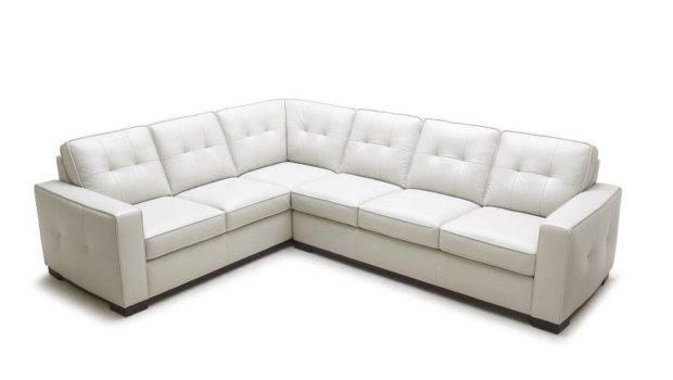 Unique Leather Corner Sectional Sofa