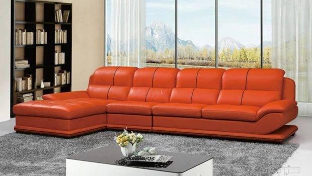 Unique Leather Upholstery Corner Shape Sofa Garland Texas Natuzzi