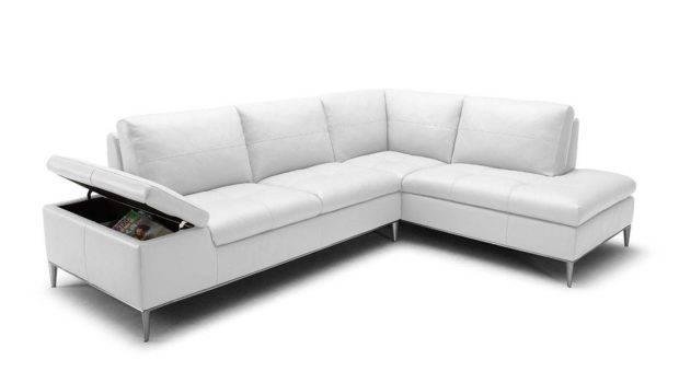 Unique Leather Upholstery Corner Shape Sofa Lancaster California