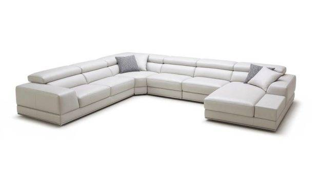 Unique Leather Upholstery Corner Shape Sofa Omaha Nebraska